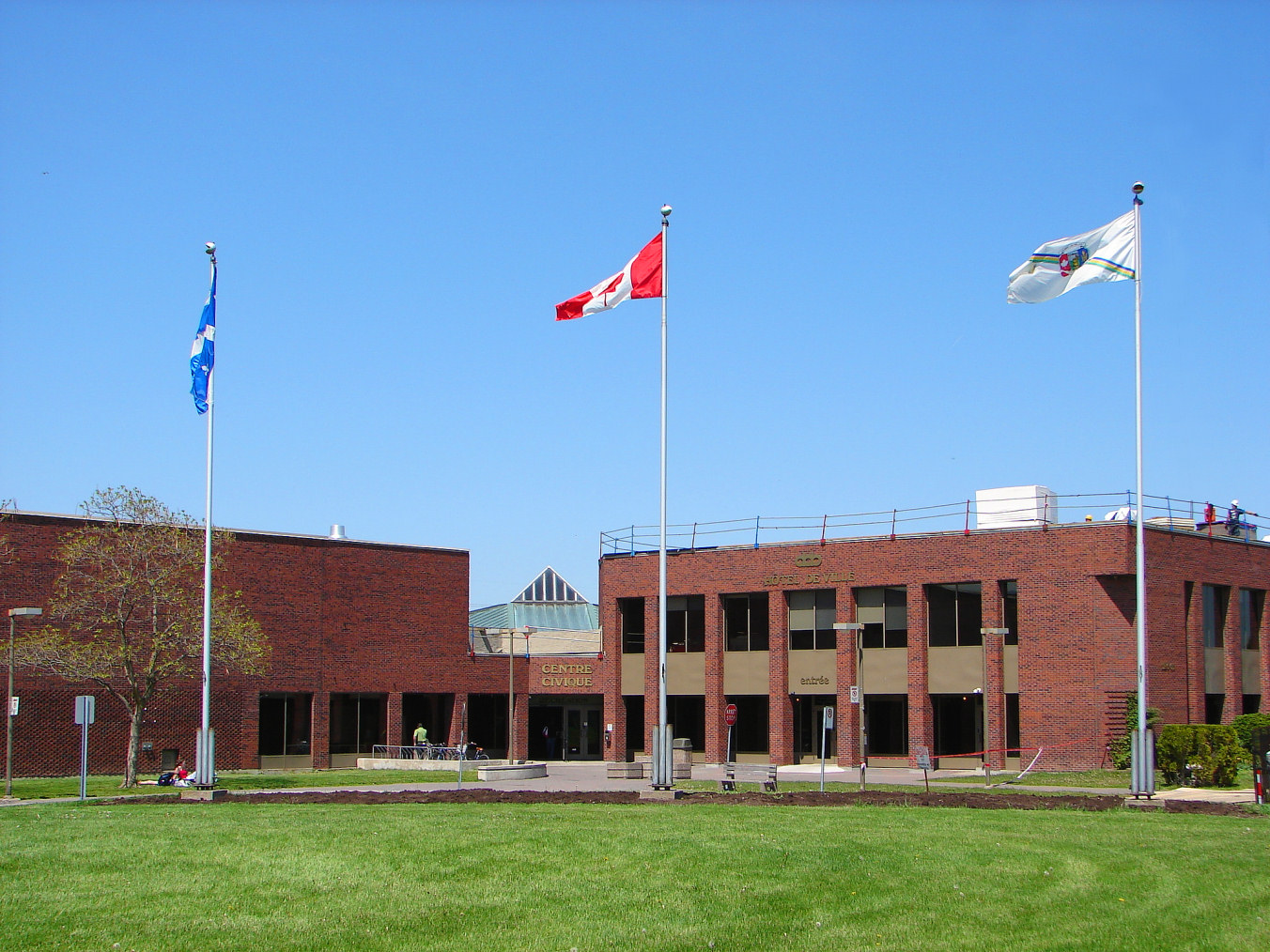 View of Dollard-des-Ormeaux City Hall