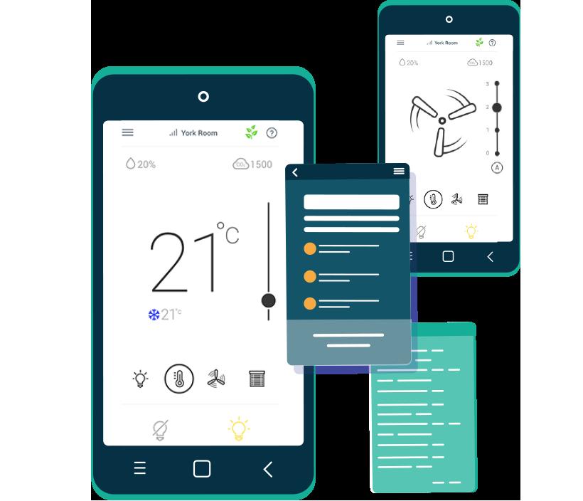 Application mobile Distech Controls